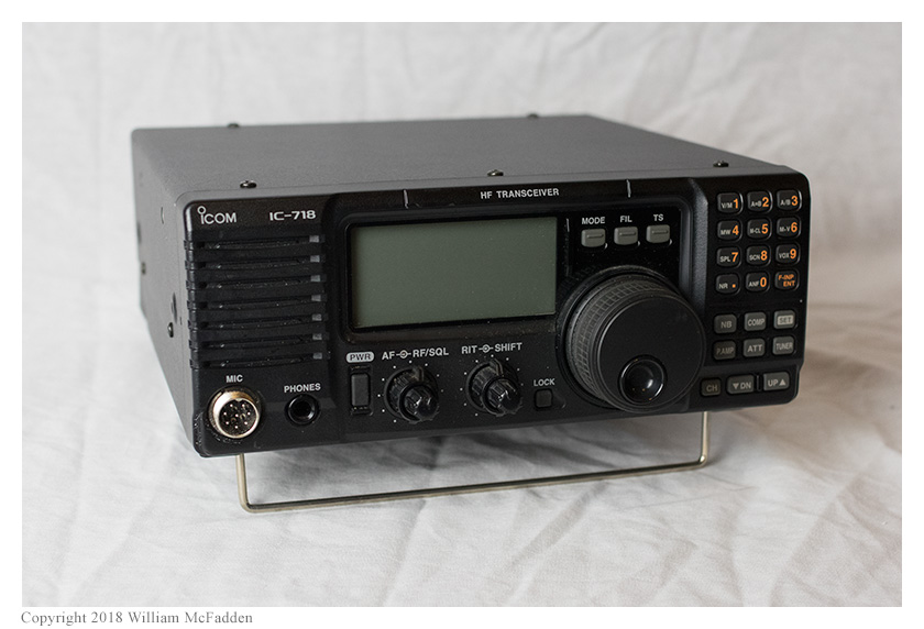 ICOM IC-718 Transceiver